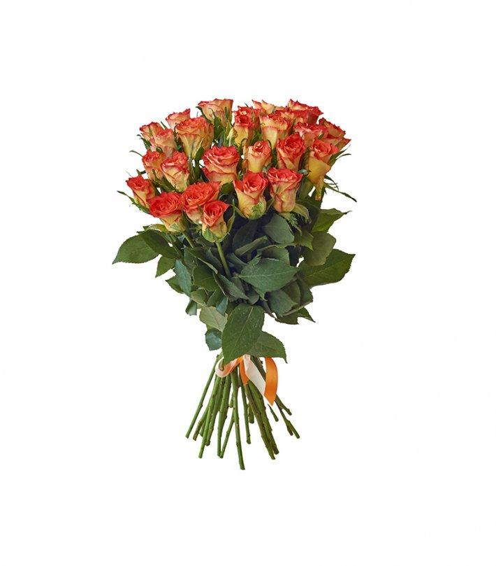זר פרחים - אהבה חמה