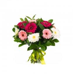 זר פרחים - גרברות