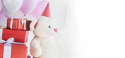דובי ומתנות ליום הולדת